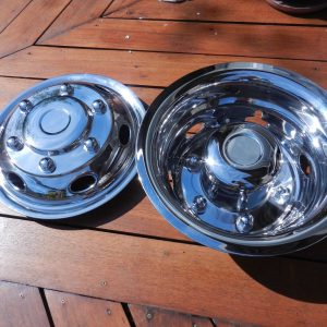 Mercedes Sprinter 16inch Wheel Covers for RV, Motor-Home, Bus or Truck