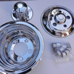 UD 16 Inch Wheel Covers for RV, Motor-Home, Bus or Trucks
