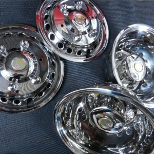 "Mercedes Sprinter 16"" Stainless Steel Wheel Covers"